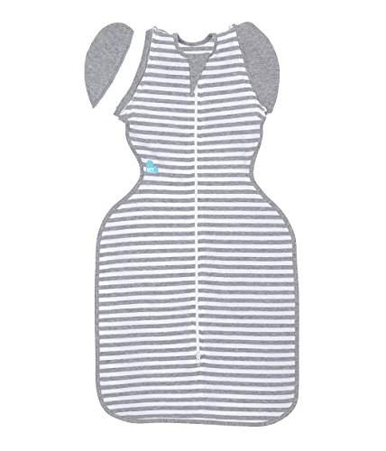 Love to Dream Swaddle UP 50/50, Gray, Large, 18.5-24 lbs