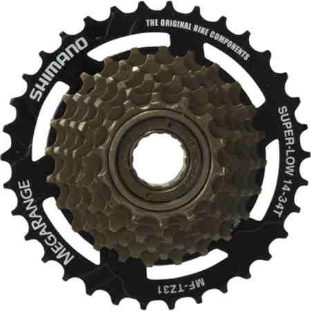 Shimano MF-TZ31 Tourney Freewheel (14-34T Mega 7 Speed)