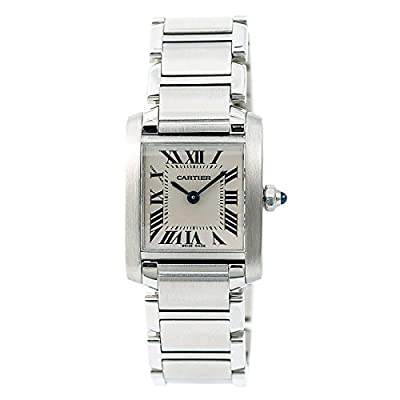 Cartier Tank Francaise Quartz Female Watch W51008Q3 (Certified Pre-Owned) by Cartier