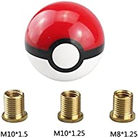 Perilla de cambio de engranaje de bola con 3 adaptadores di/ámetro de 54 mm