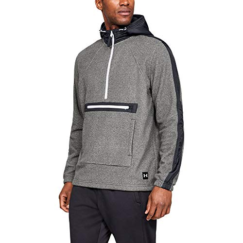 Under Armour Men's sportstyle Microfleece, Black (001)/Black, Medium