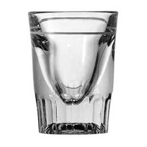 Anchor Hocking 5281 Shot Glass 1-1/2 oz. Capacity, Line at 3/4 oz. by Anchor Hocking