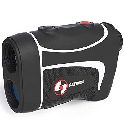 Saybien TR500 Waterproof Golf Rangefinder - Laser Range Finder with Flag Lock