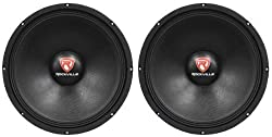 "(2) Rockville RVP15W8 15"" 2000 Watt Peak/1000 Watt RMS 8-Ohm Raw Subwoofers With 51oz Magnets For Strong Bass Response from Rockville"