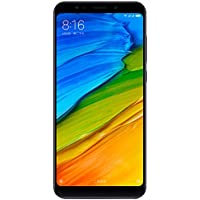 "Xiaomi Redmi 5 Plus Smartphone da 5.99"", 4GB RAM, 64 GB ROM, Snapdragon 625, Camera da 12 MP, Android, Nero [Versione Globale]"