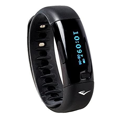 Amazon.com : Everlast TR5 - Wireless Fitness Activity Tracker + Sleep Wristband With LED Display - Black : Sports & Outdoors