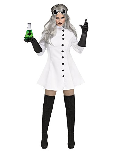Fun World Women's Mad Scientist, Multi, Size -