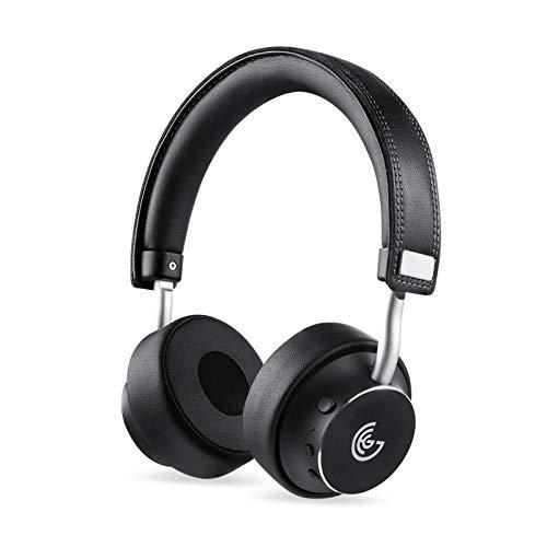GEG Bluetooth Headphones Rotatable Wireless on Ear Headphone with Powerful Bass,Apt-X Audio Technology,Stereo Sound…