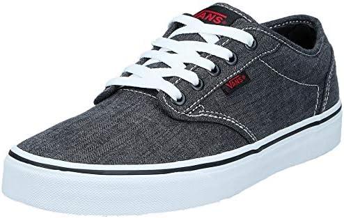 Vans Atwood Men's Fashion Sneaker Shoes, Black ((Distress) black ...