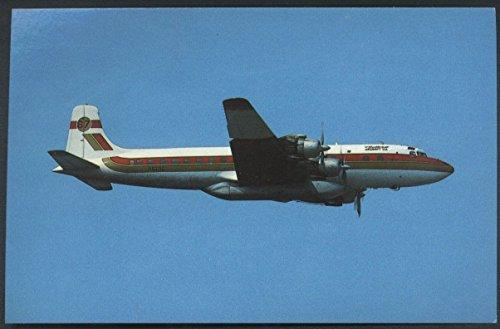 Butler Aircraft Company Douglas DC-7 Fairbanks International Airport Postcard