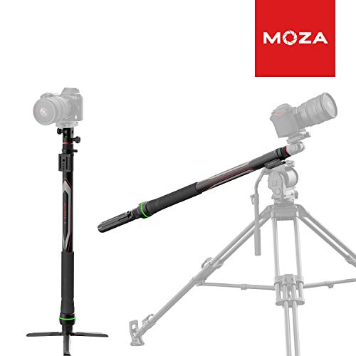 MOZA Slypod-E Motorized Camera Slider & Monopod Reinvent Motion Slider Accurate Position & Speed Control 5-Axis Camera Robotic Movement 40lbs Vertical Payload for DSLR/SLR Camera Gimbal stabilizer