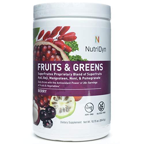 eens Berry Flavor *Certified Organic* w/ Acai, Gogi, Mangosteen, Noni & Pomegranate Super Fruits 304.8 Grams (Berry) ()