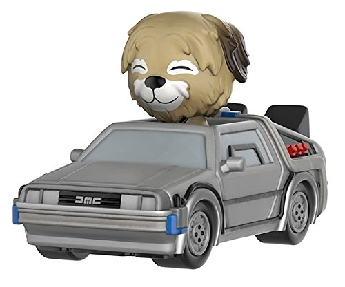Funko Dorbz Ridez: Back to The Future - Delorean Action Figure with Einstein -