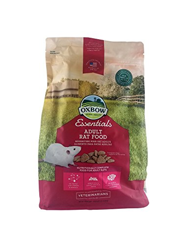 Oxbow Essentials Adult Rat Food, 3-Pound Bag