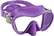 Cressi Kid's Scuba Diving Snorkeling Ultra Light Weight Premium - Mini Frameless: Designed in I