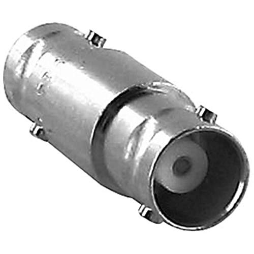 Bronze Brass Jack - Adapter; BNC; Jack-Jack; Phosphor Bronze; Silver; Teflon; Brass; Commercial- Pack of 2