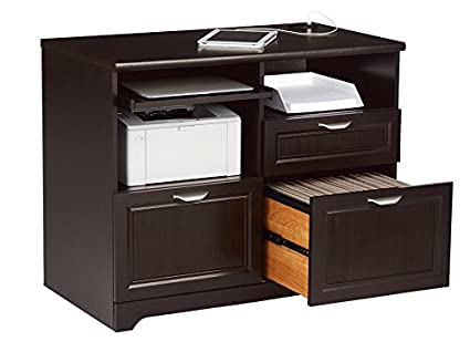 Amazon Com Realspace Magellan Tech Station 2 0 Espresso Office