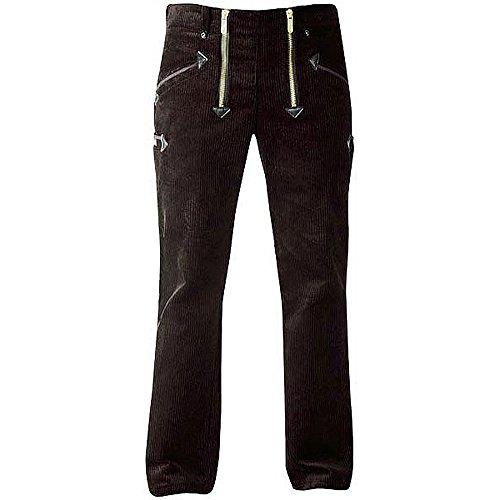 OYSTER TrenkerCord Zunft-Hose Arbeits-Hose - 50255 - breite Rippe - schwarz - Größe: 62
