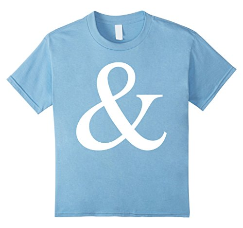 Kids Ampersand Candy T-Shirt for M Candy Group Halloween Costumes 10 Baby (Baby Halloween Costumes Diy)
