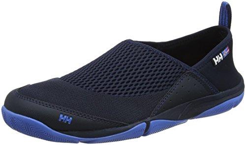 Helly Hansen Hombres Watermoc 2 Zapato De Agua Azul Marino, Rojo, Gris Medio