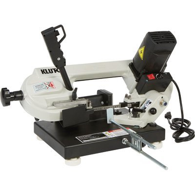 Klutch Benchtop Metal Cutting Band Saw - 3in. x 4in. 1 1/3 HP, 120V by Klutch