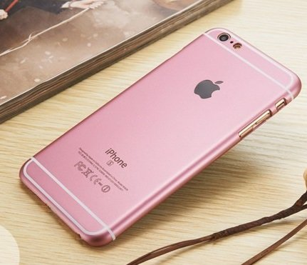 quality design bbf3a 3f1e8 Kapa Mettallic Finish Original Design Hard Back Case Cover for iPhone 6  Plus / 6S Plus - Rose Gold