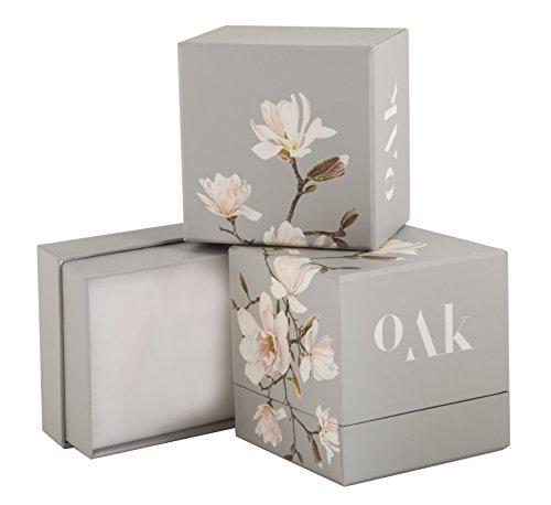 Oak Fine Jewellery - OFJ047-R-RH - Bracelet Femme - Argent 925/1000 2.5 Gr - Rhodolite/Grenat