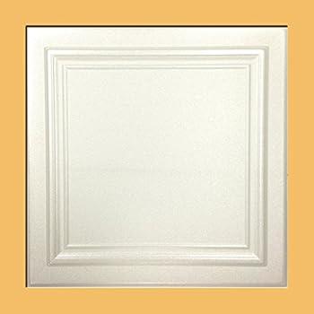 Amazon Com Anet White Styrofoam Ceiling Tiles For Glue Up