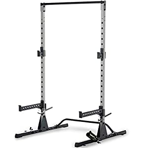 Fitness Reality Multi-Function Adjustable Power Rack Squat Stand