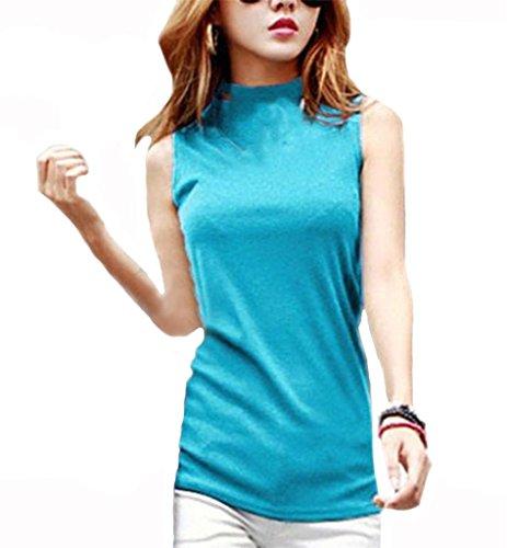 Klorim - Camiseta sin mangas - para mujer Blue1