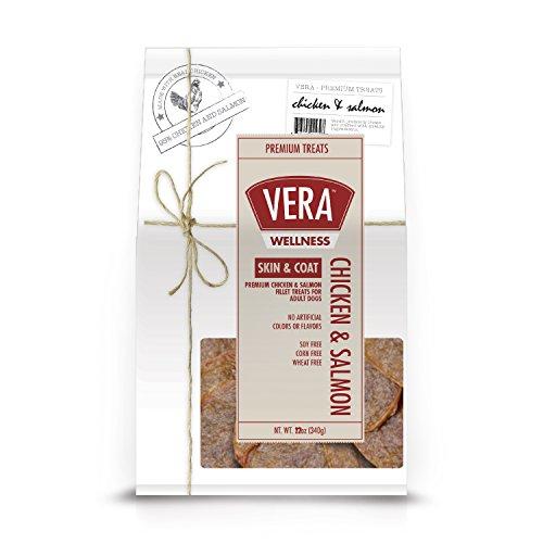 Vera Wellness Premium Chicken & Salmon Fillets For Dogs - Skin & Coat, 22 Oz