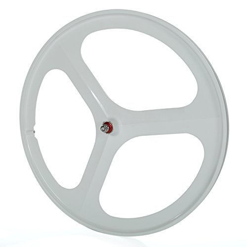 Solomone Cavalli SC Fixed Gear 700c Tri Spoke Rim Front Rear Single Speed Fixie Bicycle Wheel Set - Custom Bicycle Wheels