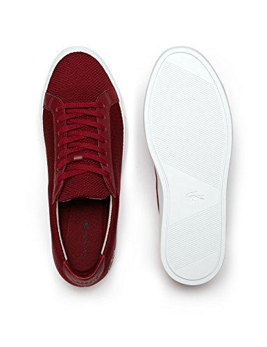Lacoste Men's Men's L.12.12 Pique Red Sneakers Red