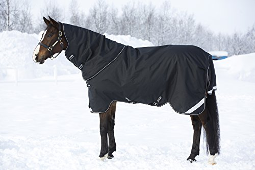 Amigo Horseware Bravo 12 Plus Turn Out Heavy 400g Black 75