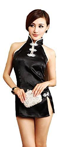 Fancy Chinese Dress Costume (VISKEY Ladies Sexy Fancy Chinese Cheongsam Dress)