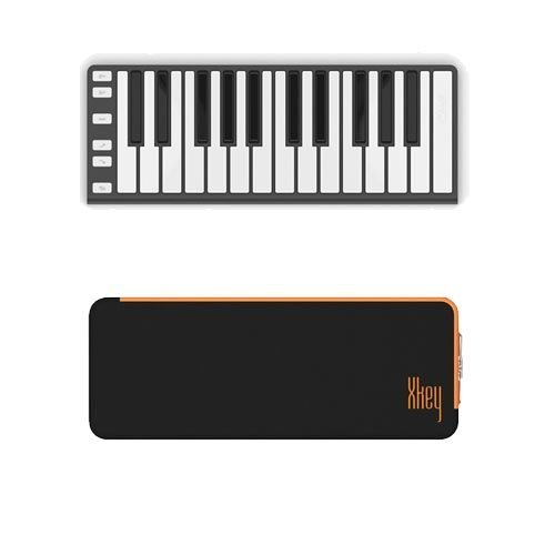CME XKey Mobile Musical Keyboard - Dark Gray  CME Xkey Mini Keyboard Supernova Carrying Case