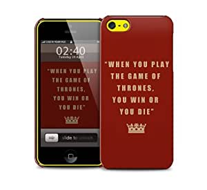 when you play got iPhone 5c protective phone case