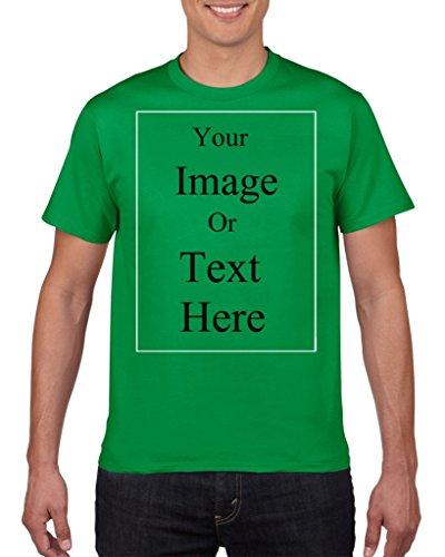 Zenzzle Customizable Men Crew Short T-Shirt 100% Cotton (Customizable Classic Short)