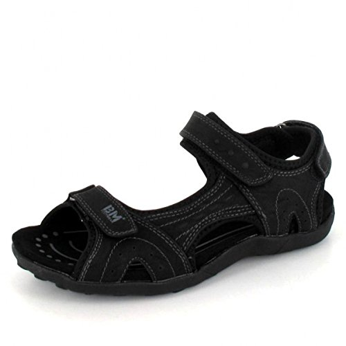 BM Footwear Sandalette, Farbe: Schwarz