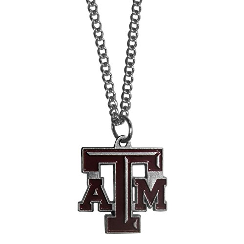 Texas A&M Aggies 3-D Logo Pendant - NCAA College Athletics Fan Shop Sports Team Merchandise College Teams Merchandise