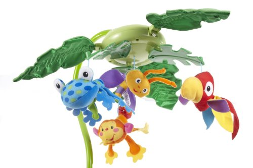 Fisher-Price Rainforest Peek-A-Boo Leaves Musical Mobile by Fisher-Price (Image #9)