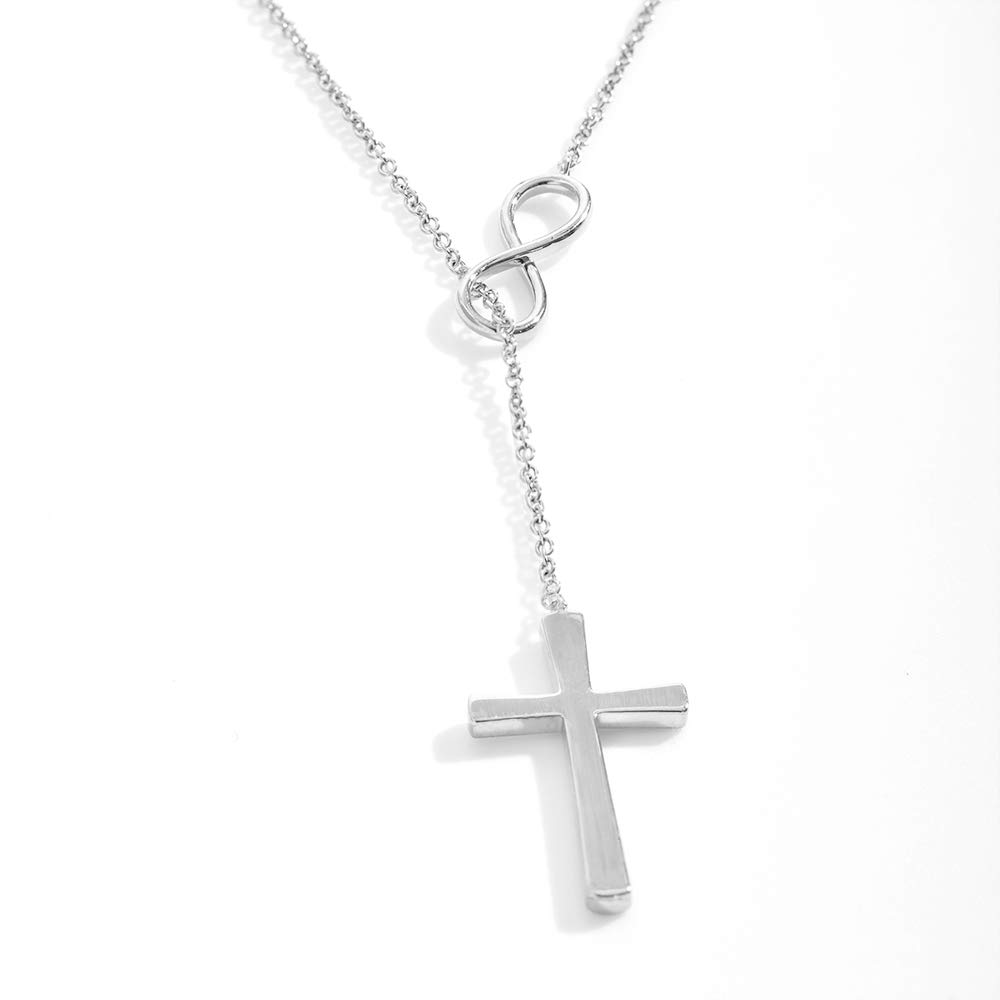 Infinity Cross Godmother Proposal Be My Godmother Request Dear Ava Godmother Gift Necklace