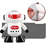 Creazydog Creazy Clockwork Wind Up Running Robot Toy for Baby Kids Developmental Gift Puzzle Toys