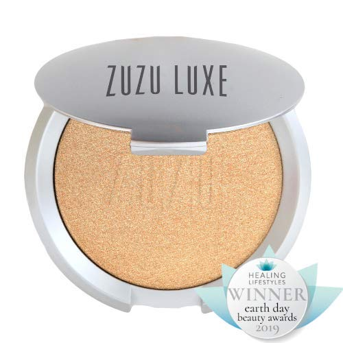 Zuzu Luxe, Mineral Highlighter, #Winner, Healing Lifestyle Earth Day Beauty Award,2019 (Best Face Highlighter 2019)