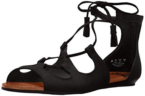 Sandale Plate Fergalicious Womens Gordie Noir