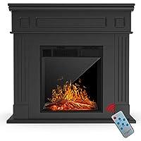 KUPPET Electric Fireplace, Freestanding ...