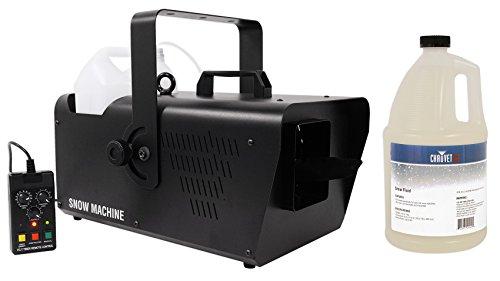 Chauvet DJ SM 250 DMX Snow Machine w/ Wired timer Remote SM250+Gallon of Fluid by Chauvet