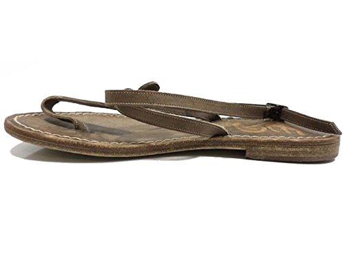 Zapatos Mujer EDDY DANIELE 37 EU Sandalias Marrón Cuero AW406