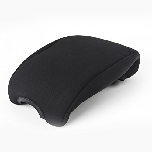 WINOMO Car Armrest Center Consoles Cushion All Seasons Universal Auto Seat Cushion for Jeep Wrangler (Black)