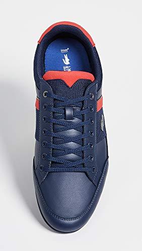 Men's Blue Dark Navy Synthetic Lacoste Chaymon Sneaker RqdwOOX